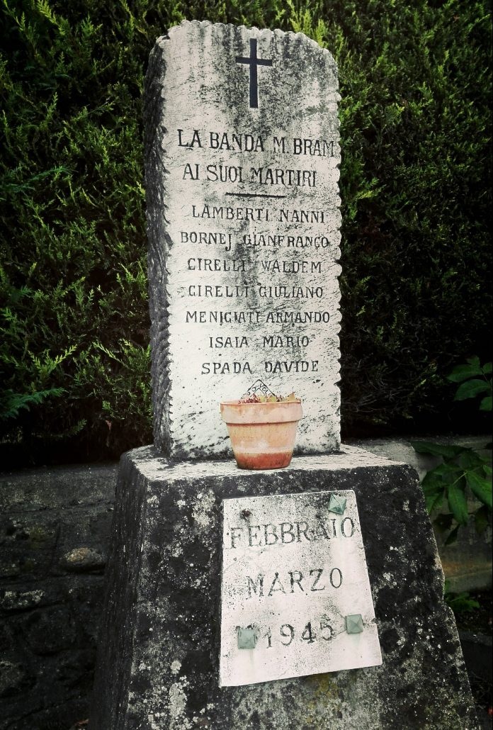 Memorial to the fallen of the Bram Monchiero