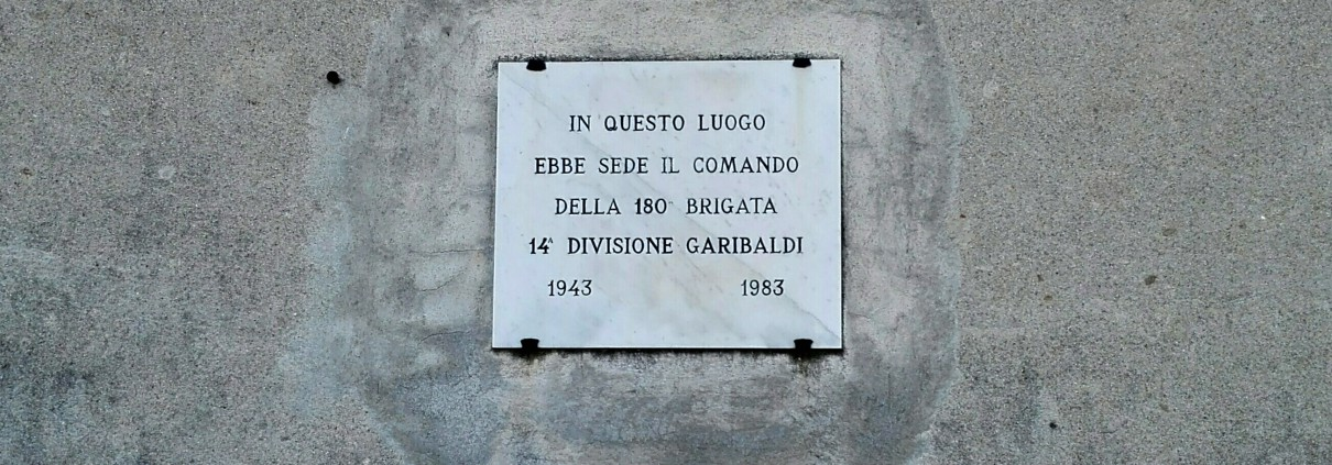 Targa Brigata Garibaldi Valdibà