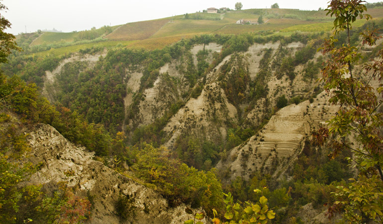 Le Rocche dei Sette Fratelli viste dal punto panoramico