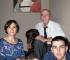 B&B Casa Asso di Coppe (Alba) - La famiglia: Paola, Gianni e Nicolò Petronio