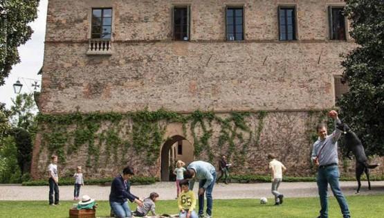 Castello della Manta: Avventura in castello