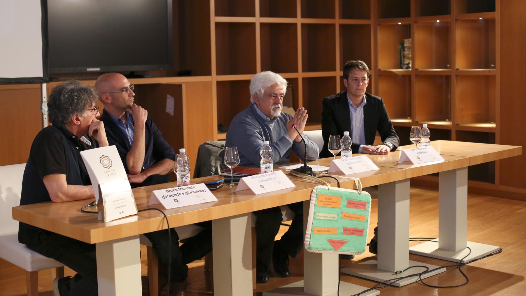 In ordine: Bruno Murialdo, Edmondo Bonelli, Sergio Miravalle, Carlo Marenda