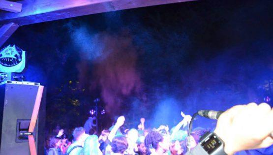 Fluo Dancing Party nel bosco di Monterotondo