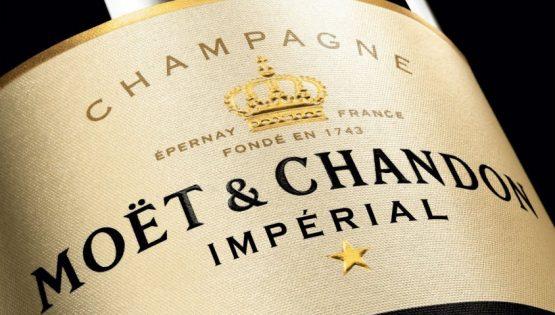 "Lo Champagne ""Moët & Chandon Imperial Brut"""