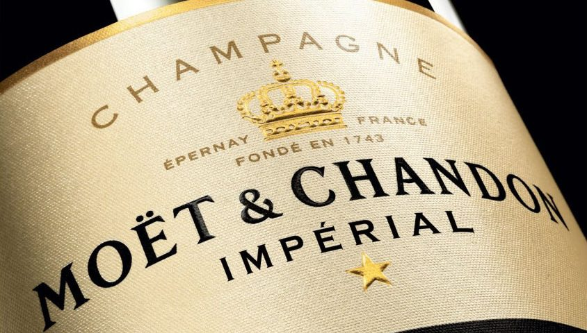 "Champagne ""Moet & Chandon Imperial Brut"""