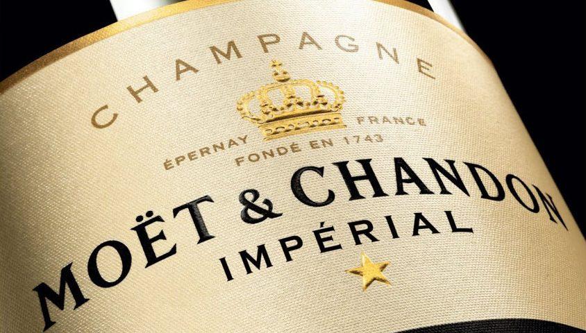 "Champagne ""Moet & Chandon Imperial Brut"""