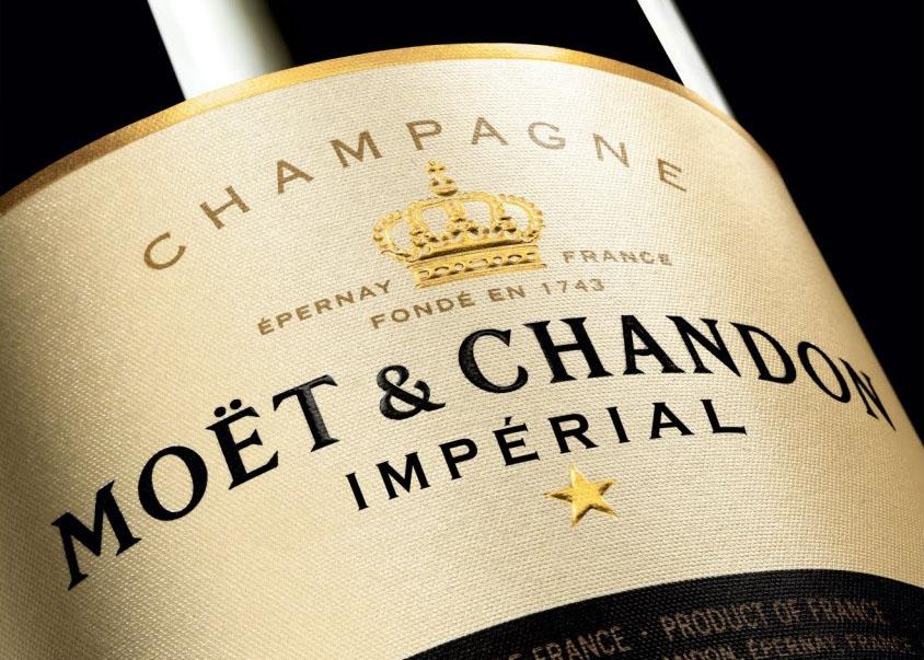 """Champagne """"Moët & Chandon Imperial Brut"""""""