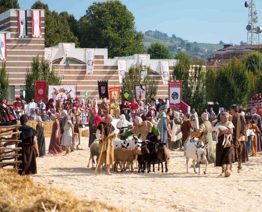 La rievocazione storica del borgo Brichett - Alba