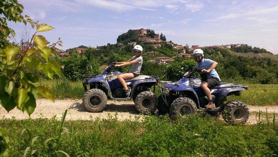 Tour in Quad o in Vespa