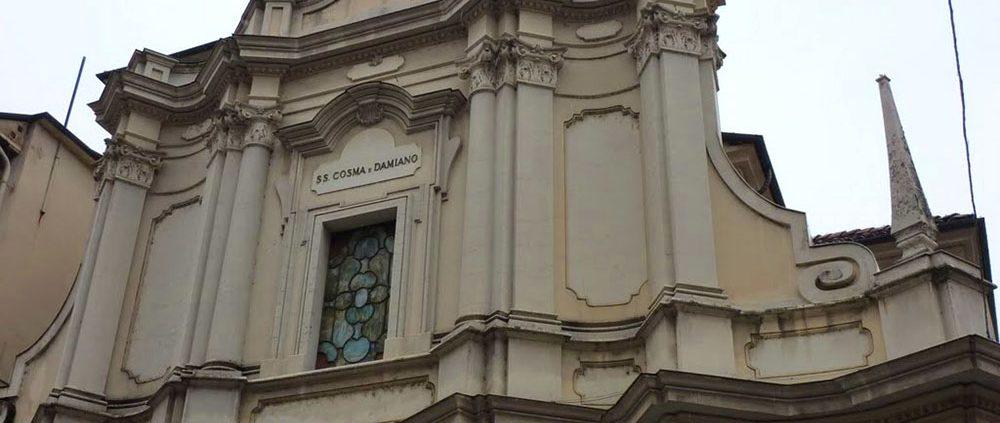 La chiesa parrocchiale dei Ss. Cosma e Damiano