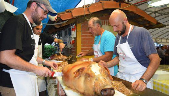 Festa del Bon di Vin: Porchetta