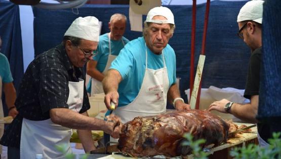 68^ Festa del Bon di Vin: porchetta e degustazione vino