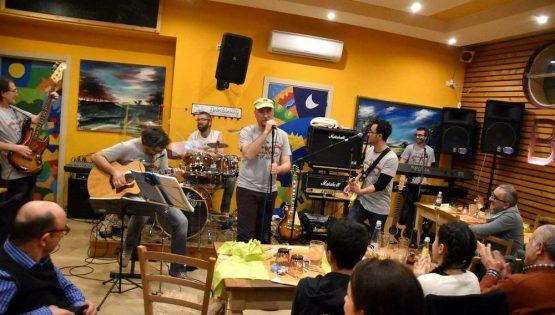Clack Song Band in concerto
