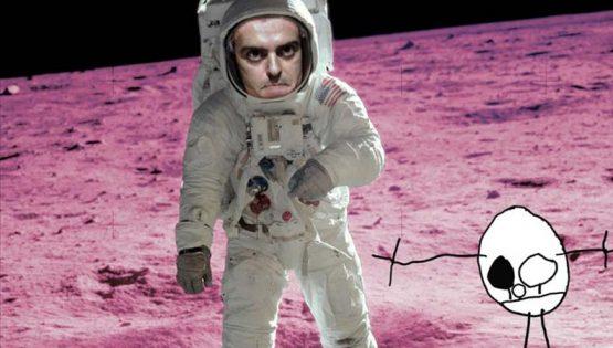 Primi passi sulla luna