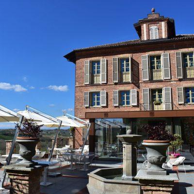 L'esterno di Villa Fontana