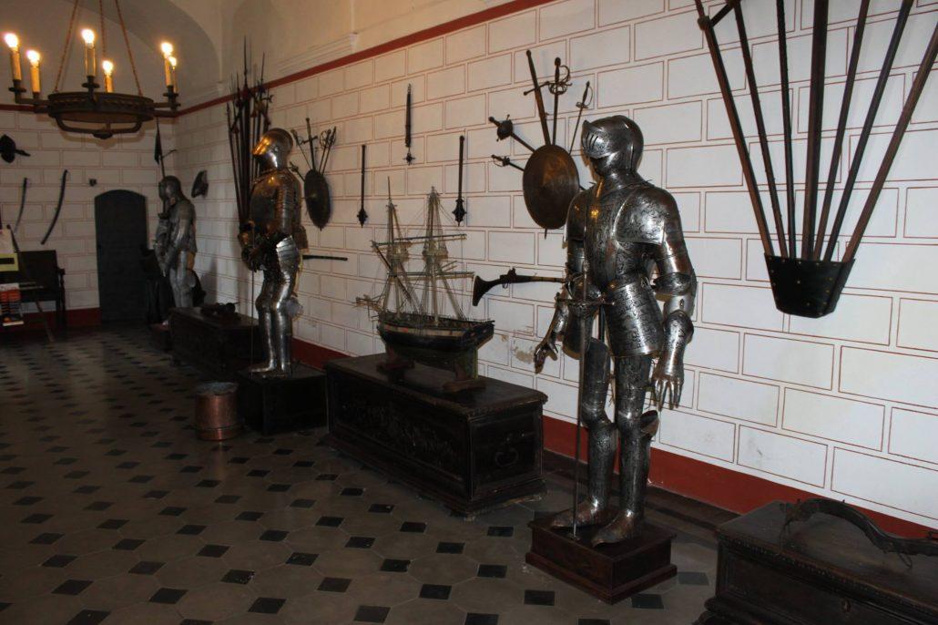 Castello di Monticello - Sala d'Armi