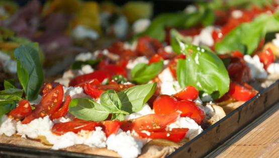 La pizza alla romana
