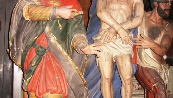 Le antiche statue dei Giudei tornano a Cortemilia