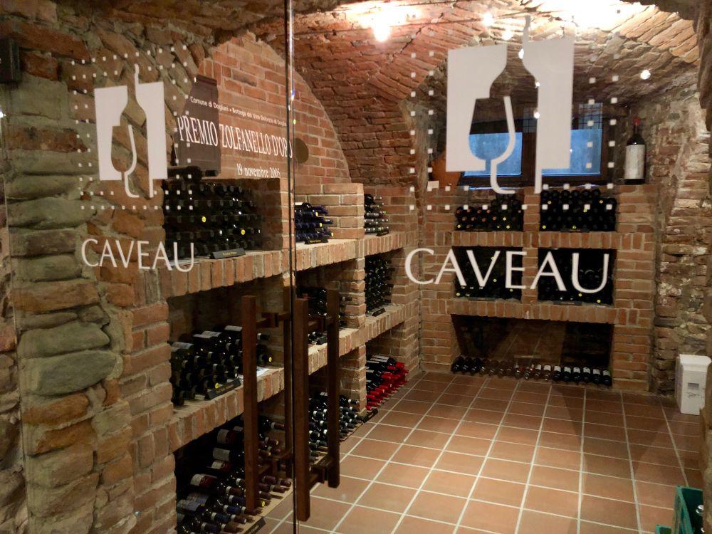 Il caveau dei vini
