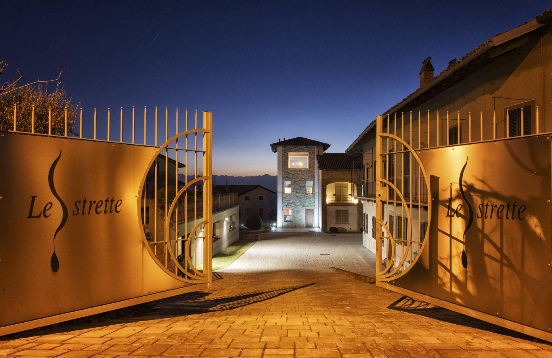 Le Strette Vini - Ingresso in Azienda