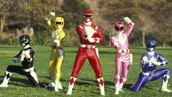 Arrivano i Power Rangers
