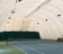 Il Poggio Agrisport - IL campo da tennis sotto il pallone