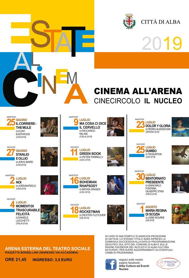 estate al cinema - eventi