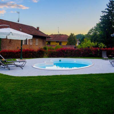 Villa Firmino - cortile