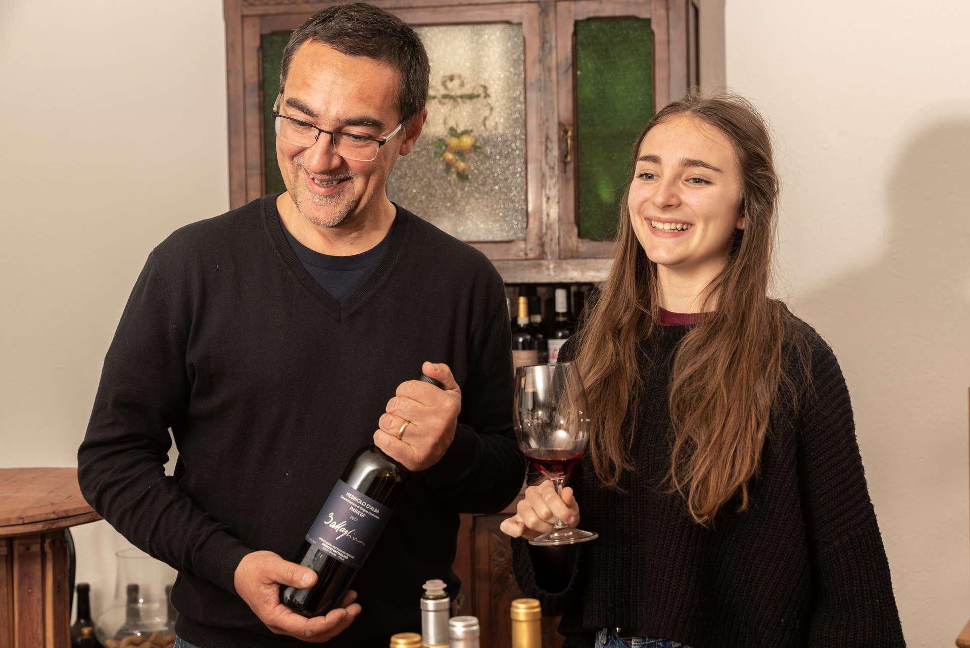 Fabrizio e sua figlia