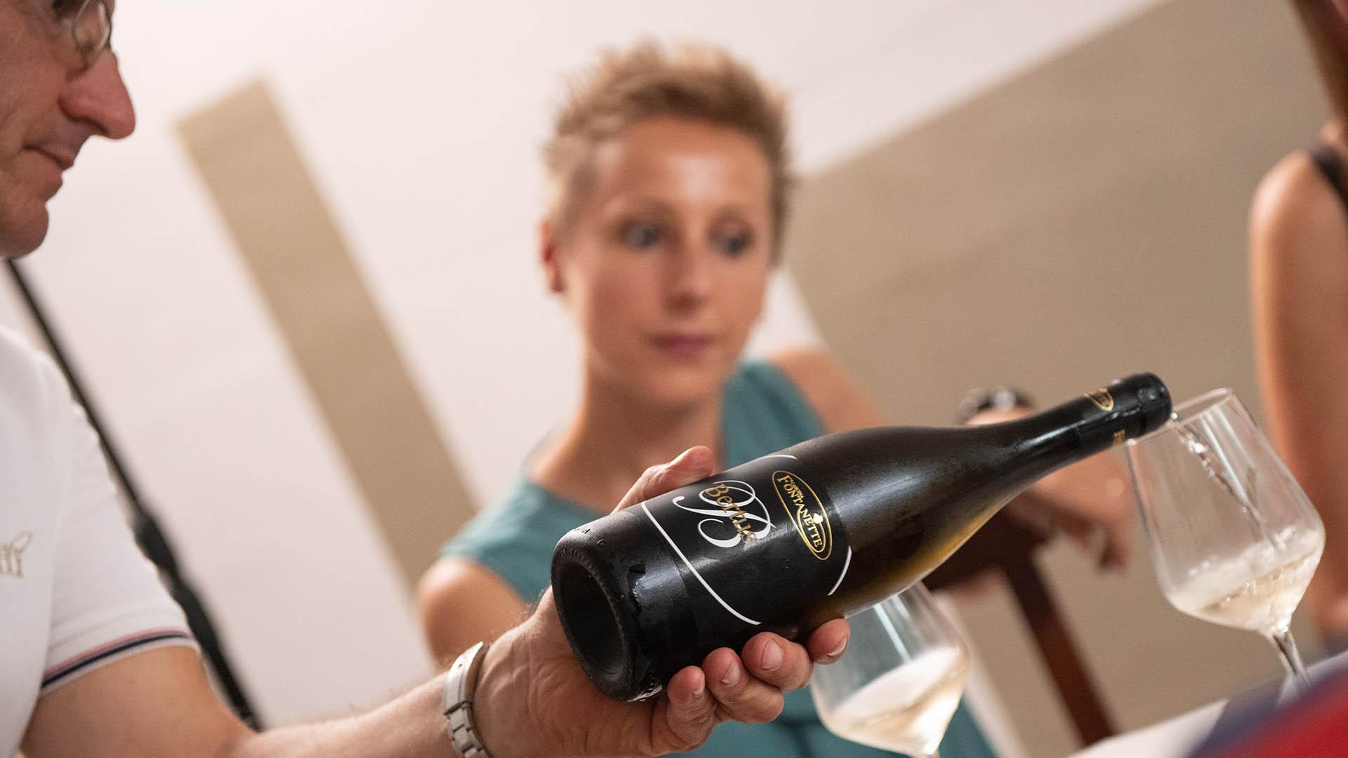 Bottiglia vino - Cascina Fontanette