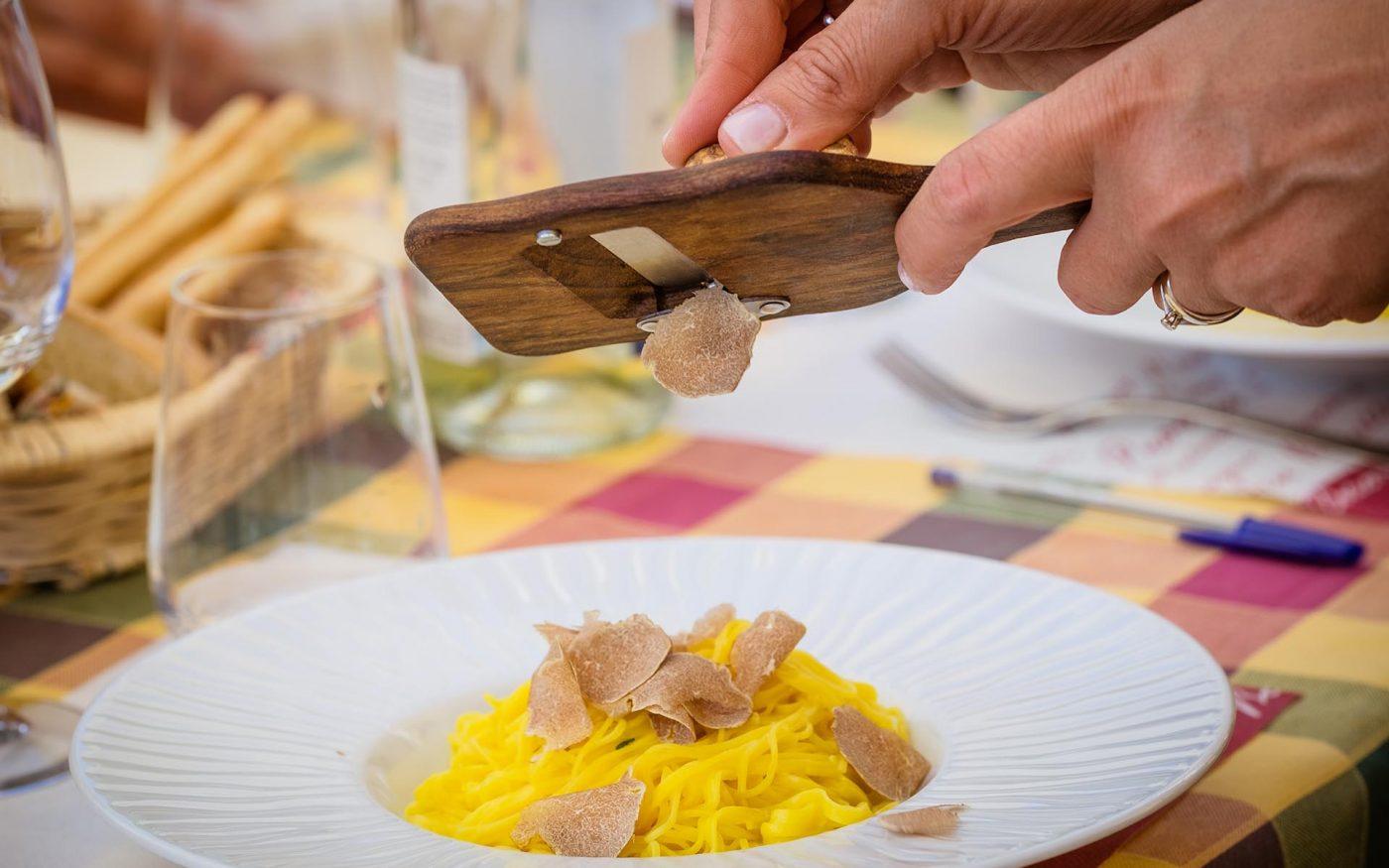 Tajarin al tartufo