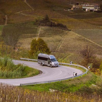 Van e Minivan per i tour tra Langhe e Roero
